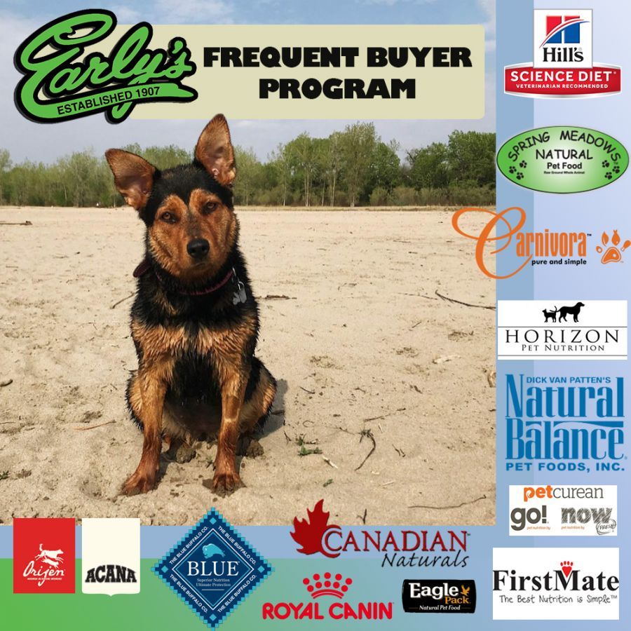 Pet Food Frequent Buyer Program!