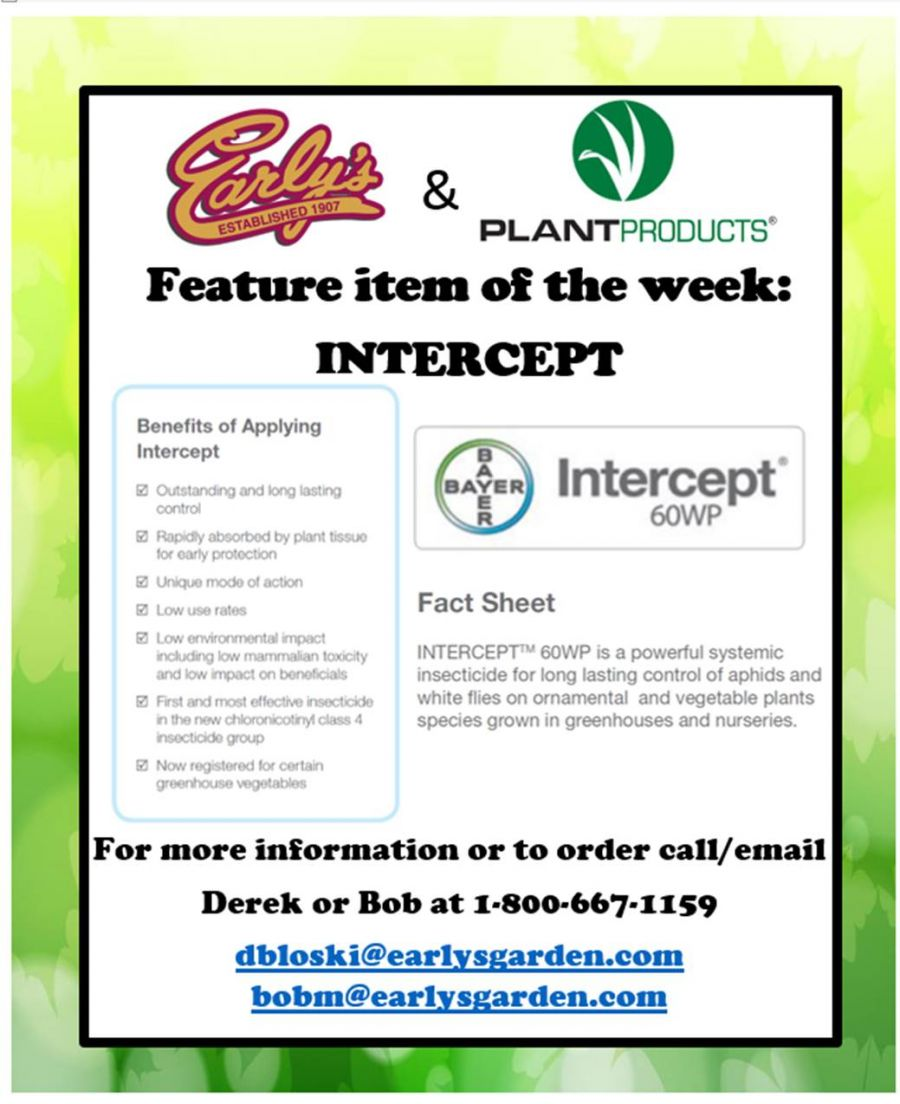 Intercept Systemic Insecticide