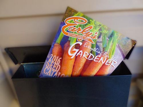 Take a Peek...Early's 2016 Garden Seed Catalogue!